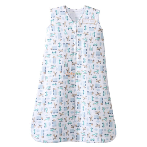Halo Cotton Sleepsack Blue Travel Time S
