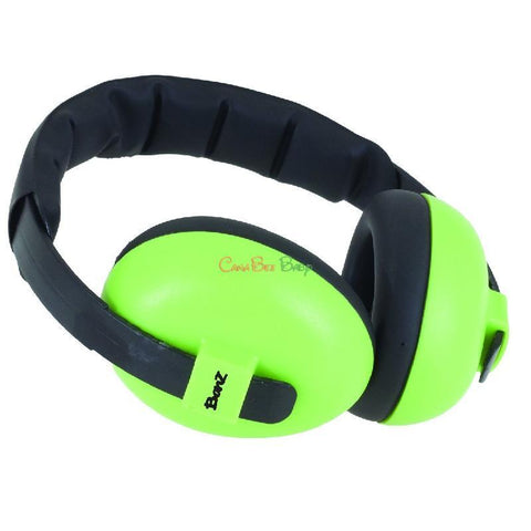 Baby Banz Earmuffs Lime 0-2yrs - CanaBee Baby