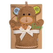 Zoocchini Bath Mitt - Max the Monkey