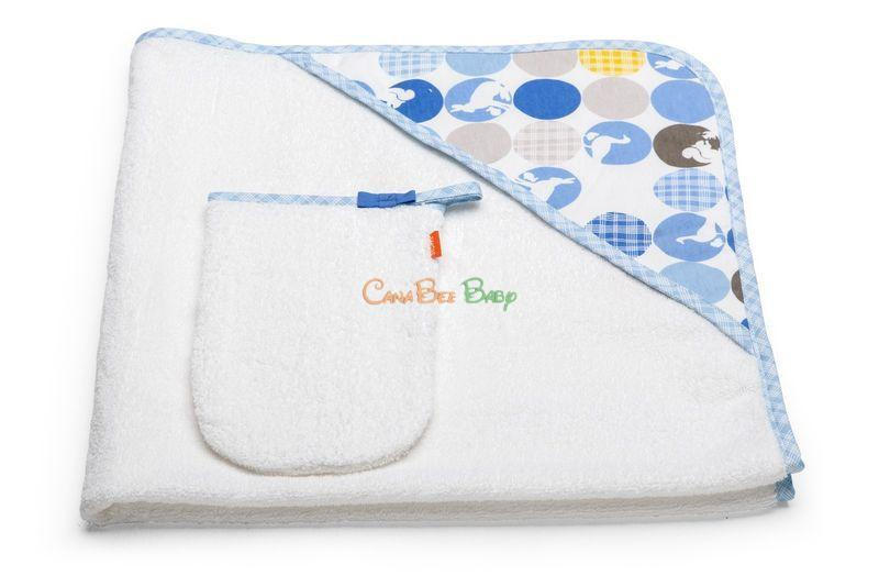 Stokke Hooded Towel - CanaBee Baby