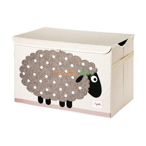 3 Sprouts Toy Chest - Sheep - CanaBee Baby