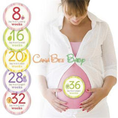 Pearhead Pregnancy Belly Stickers - CanaBee Baby