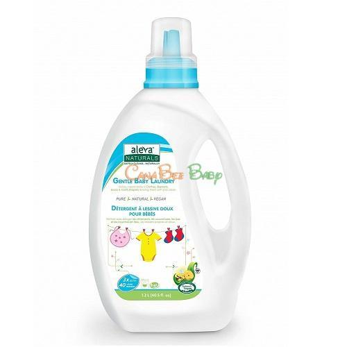 Aleva Naturals Gentle Baby Laundry Fragrance Free 1.2L - CanaBee Baby
