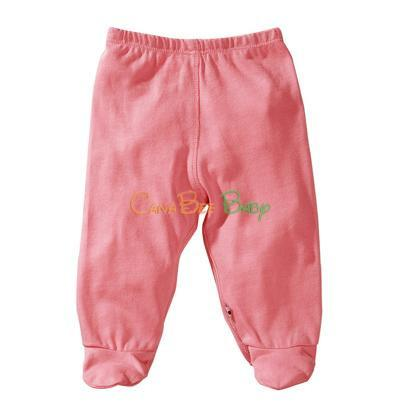 Babysoy O Soy Footie Pants Rose - CanaBee Baby