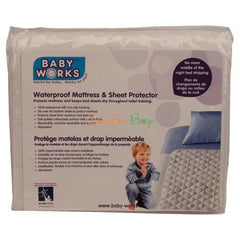 Baby Works Waterproof Mattress & Sheet Protector - CanaBee Baby