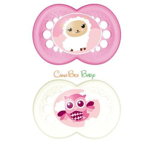 MAM Animals Pacifier 6m+ (Assorted) - CanaBee Baby