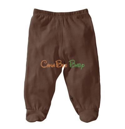 Babysoy O Soy Footie Pants Cacao - CanaBee Baby