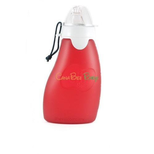 Sili Squeeze with Eeeze-4oz Red - CanaBee Baby