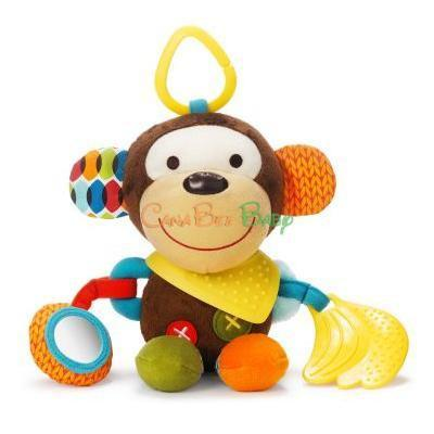 Skip Hop Bandana Buddies Milo the Monkey
