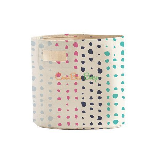 Petit Pehr Bin - Painted Dots - CanaBee Baby