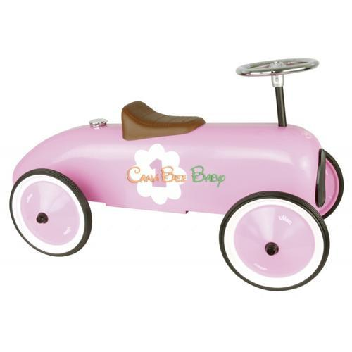 Vilac Pink Metal Car - CanaBee Baby