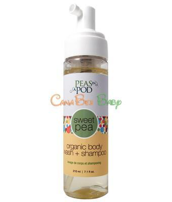 Peas in A Pod Sweet Pea Baby Body Wash & Shampoo 210ml - CanaBee Baby