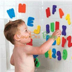Munchkin Bath Letters and Numbers - CanaBee Baby