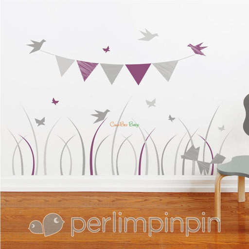 Perlim Pin Pin Wall Stickers - AD4900 - CanaBee Baby