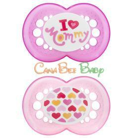 MAM Love & Affection Pacifiers 6m+ - CanaBee Baby