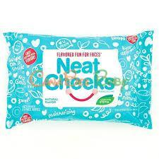Neat Cheeks Flavored Face Wipes Natural 25pk - CanaBee Baby