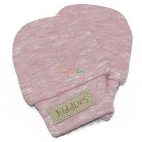 Juddlies Scratch Mitts Pink Fleck - CanaBee Baby