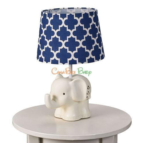 Lolli Living Lamp Base & Shade - Elephant - CanaBee Baby