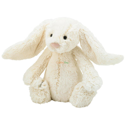 Jellycat Bashful Cream Bunny Size S