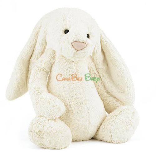 Jellycat Bashful Cream Bunny Size L - CanaBee Baby