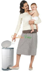 Dekor Plus Diaper Pail - Gray - CanaBee Baby