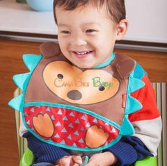 Skip Hop Zoo Tuck-away Bib - Butterfly