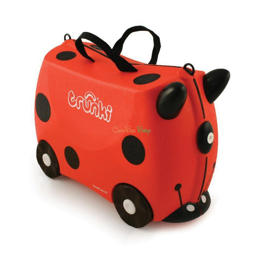 Trunki Children's Ride On Suitcase Harley Ladybug - CanaBee Baby