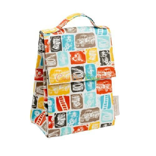 Sugarbooger Lunch Sack - Firetruck - CanaBee Baby
