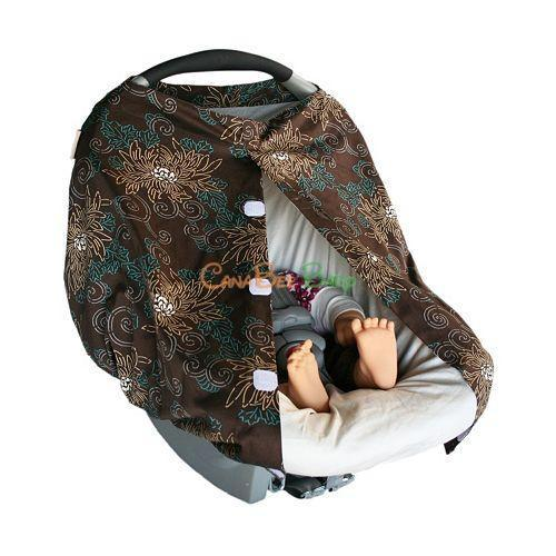 The Peanut Shell Carrier Cover - Amori - CanaBee Baby