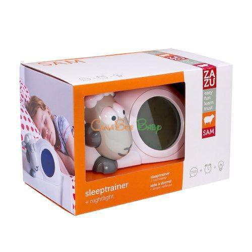 Zazu Sam Sleep Trainer & Night Light - Grey