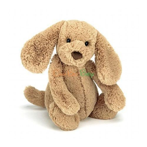 Jellycat Bashful Toffee Puppy Size S - CanaBee Baby