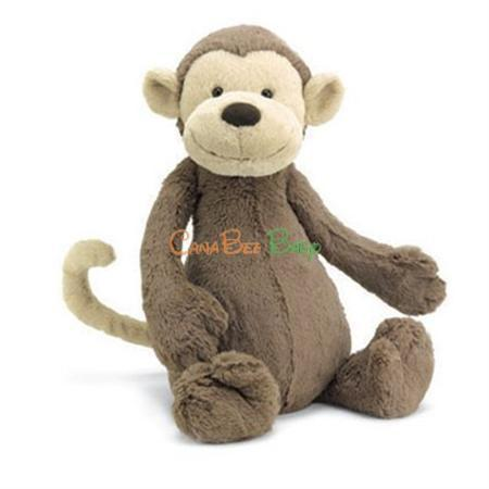 Jellycat Bashful Monkey Size M
