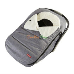 Skip Hop STROLL & GO Car Seat Cover - Heather Grey - CanaBee Baby