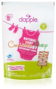 Dapple Laundry Detergent Pod 25pc - CanaBee Baby