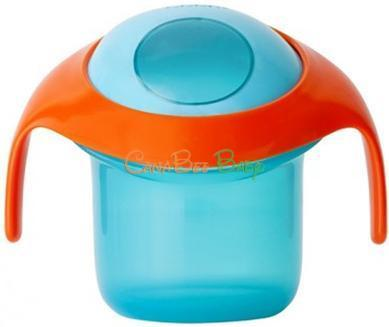 Boon Nosh Snack Container in Blue/Orange - CanaBee Baby