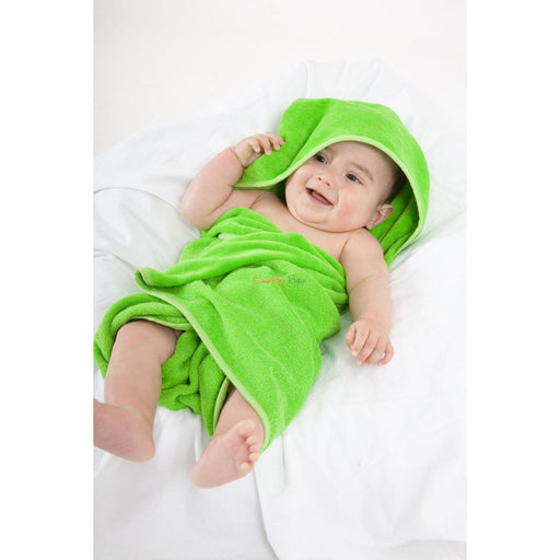 Mum2Mum Hooded Towel - Green - CanaBee Baby