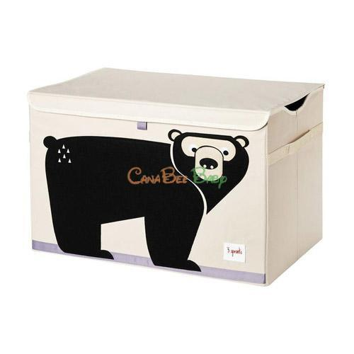 3 Sprouts Toy Chest - Bear - CanaBee Baby