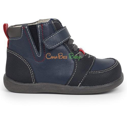 See Kai Run Ian Navy/Black - CanaBee Baby