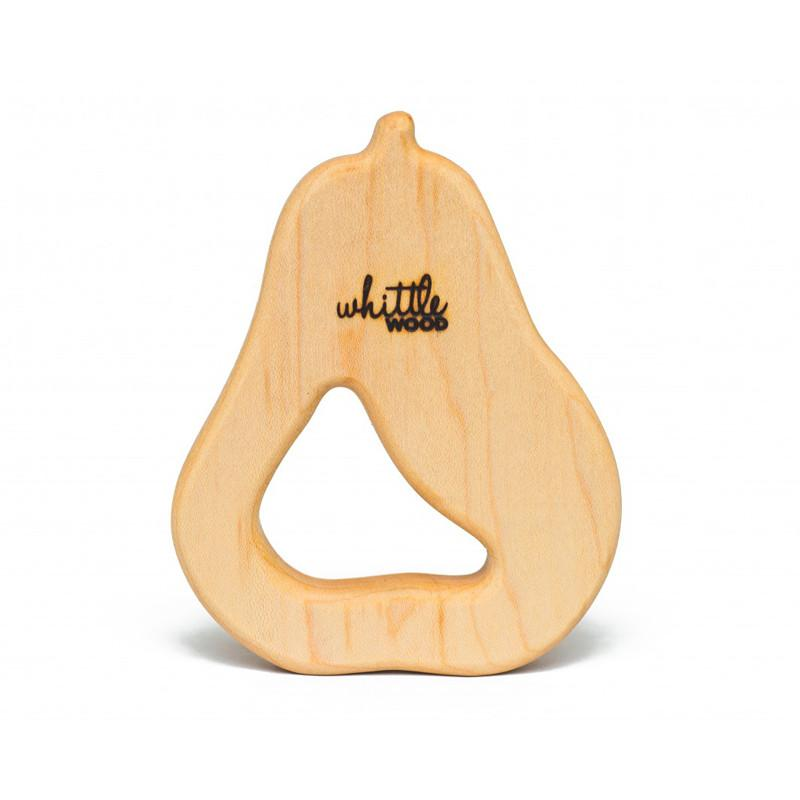 Whittle Wood Teether - Bartlett - CanaBee Baby