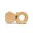 Whittle Wood Teether - Bling - CanaBee Baby