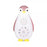 Zazu Zoe the Penguin - Bluetooth music box with nightlight Pink