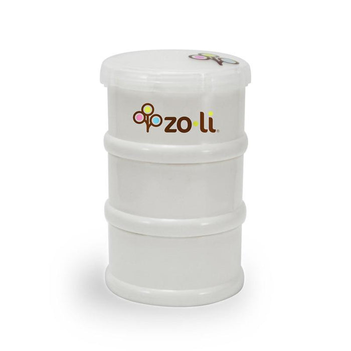 Zoli Pods Snack Stacker - White - CanaBee Baby