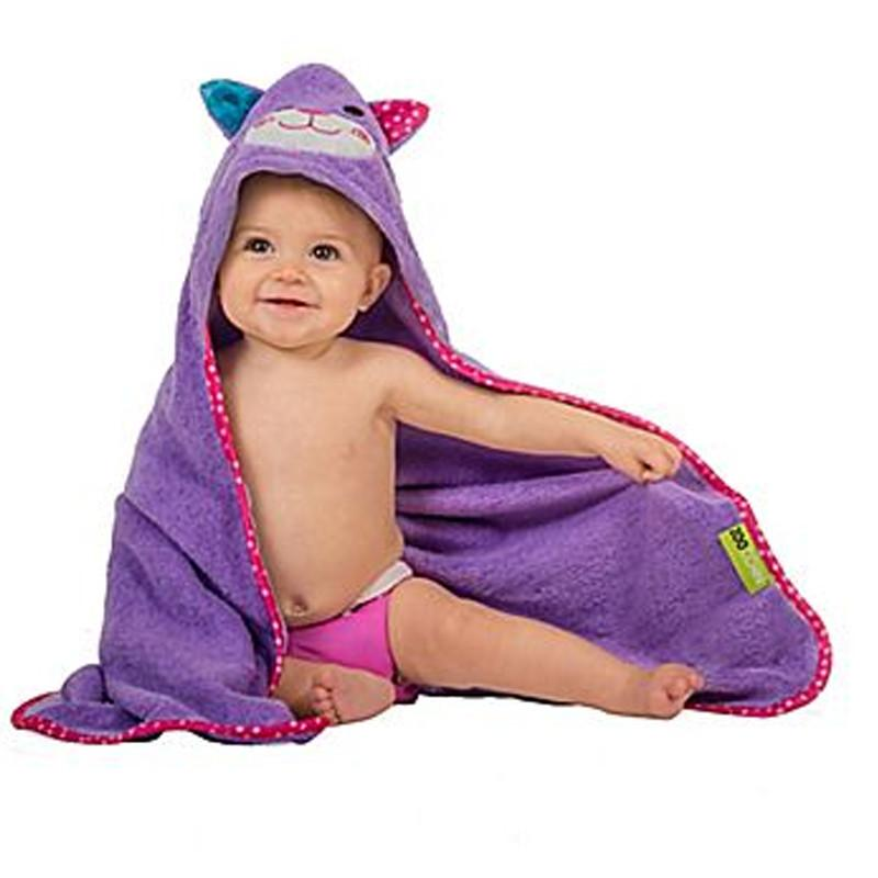 Zoocchini Baby Hooded Towel Kallie the Kitten - CanaBee Baby