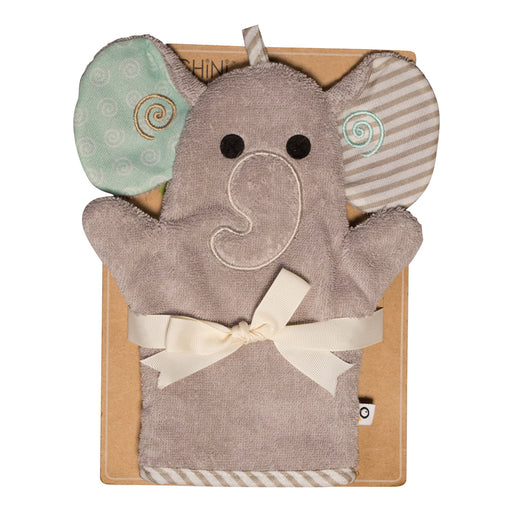 70062f9aa7a Zoochini Bath Mitt - Elle the Elephant - CanaBee Baby