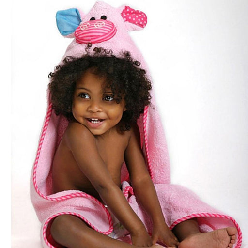 89c5700b9 Zoocchini Baby Hooded Towel Pinky the Piglet - CanaBee Baby
