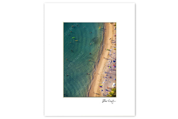 Large Matted Print