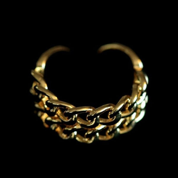 DOUBLE CURB CUFF RING