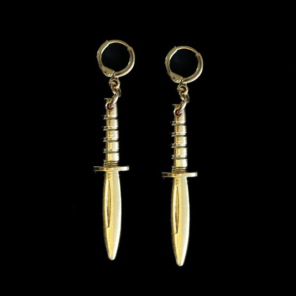 DAGGER PENDENT EARRINGS