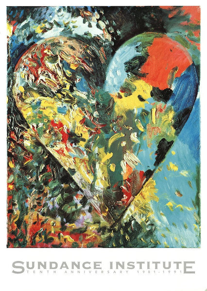Jim Dine 10th Anniversary Poster
