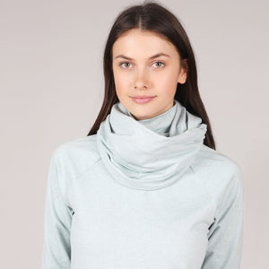 Brushed Knit Infinity Scarf